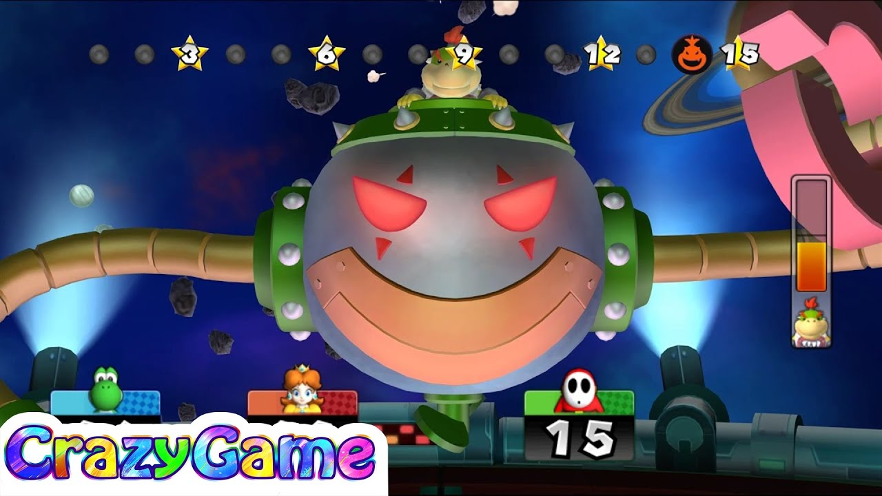 Mario Party 9 Bowser Station Party 11 Master Difficult Youtube