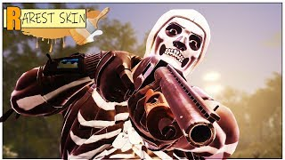 Fortnite Rarest Skin | Skull Trooper Spray Painted