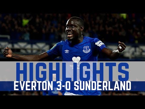 HIGHLIGHTS: EVERTON 3-0 SUNDERLAND - CARABAO CUP