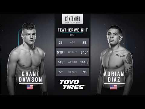 FREE FIGHT | Dawson's Sensational Performance | DWTNCS Week 6 Contract Winner - Season 1