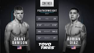 FREE FIGHT | Dawson's Sensational Performance | DWTNCS Week 6 Contract Winner - Season 1