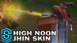 High Noon Jhin Skin Spotlight - Pre-Release - League of Legends