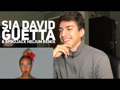 Sia- Helium ft David Guetta & Afrojack (Sia vs David Guetta &Afrojack)| Reaction