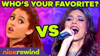 Cat vs. Tori Singing Competition  Best Songs from Victorious | NickRewind