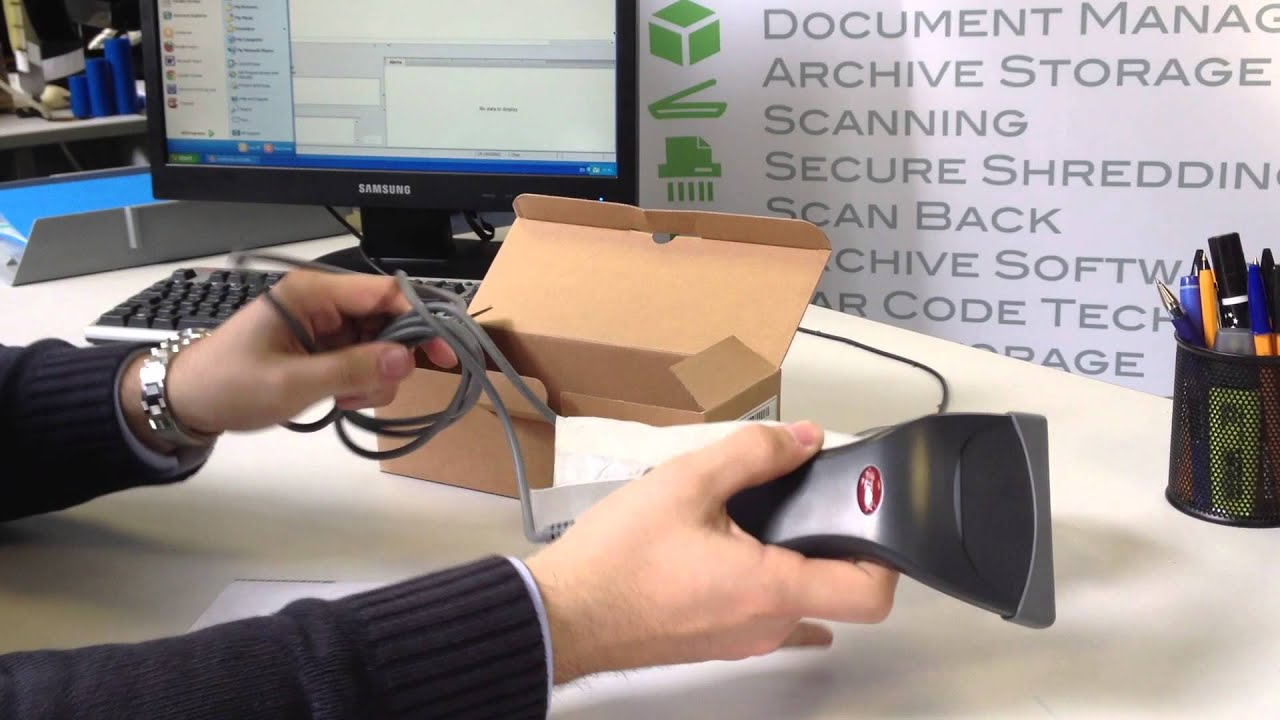 Setting Up Your Barcode Scanner - Secure Data Management by Secure Data  Management