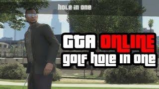 GTA Online: Golfing And Getting a Hole In One Gameplay Clip