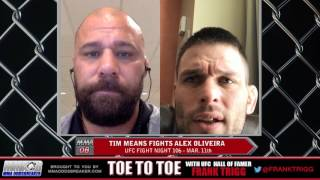 Frank Trigg Interviews UFC Fight Night 106's Tim Means