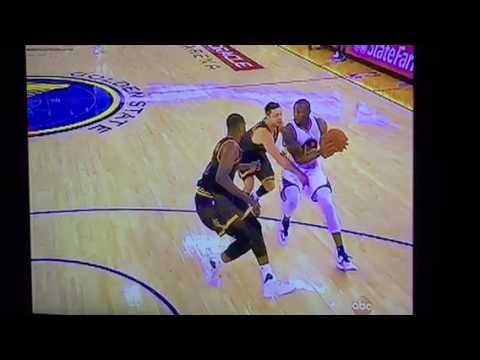 Dellavedova Hits Iguodala In The Groin - Dirty NBA Finals Play #NBAFinals