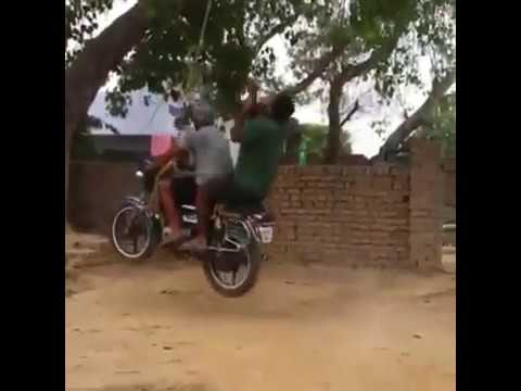 Bike Swing, Only in India, hats off
