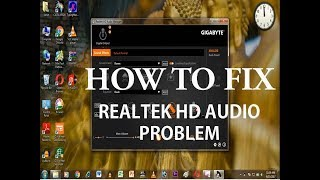 how to install realtek hd audio drivers