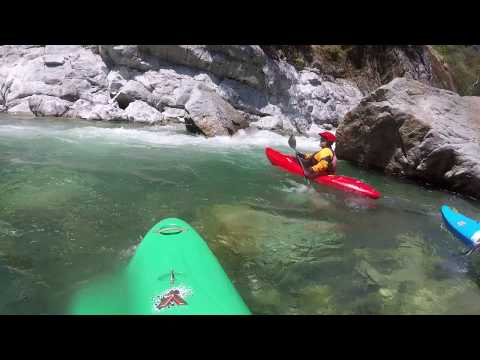 Slaughter's Sluice Rapid, North Fork American River, 640 cfs, May 2018