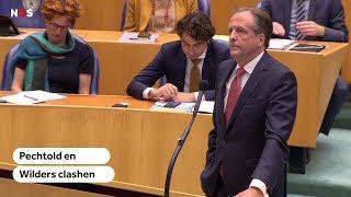 DEBAT: Wilders en Pechtold clashen over 'Meppel'