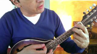 How to play Dance Tonight on mandolin complete - Paul McCartney