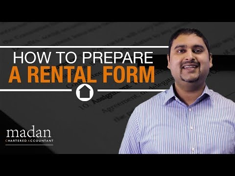 How To Prepare A Rental Form