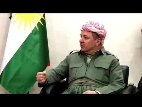 Kurdistan President Masoud Barzani visited Amed Diyarbekir s mayor Osman Baydemir Barzani