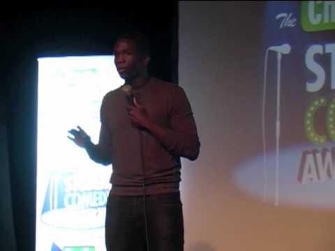 Kwame Asante - Winner - Chortle Student Comedy Award 2012