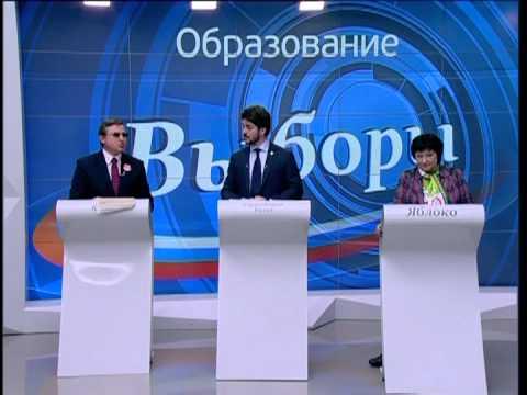 Дебаты об образовании (22ноября2011, Москва24)