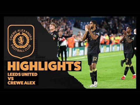 Leeds Crewe Goals And Highlights