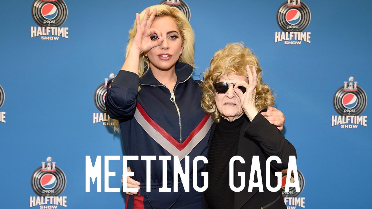 Meeting Lady Gaga Youtube