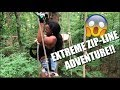 EXTREME ZIP-LINE ADVENTURE + 1ST TIME EATING LOBSTER & CRAB! - Ify Yvonne