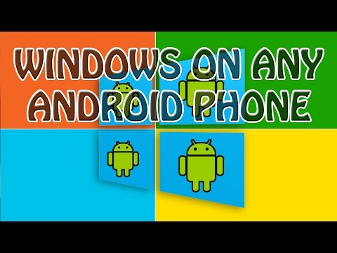 HOW TO RUN WINDOWS PHONE ON ANY ANDROID