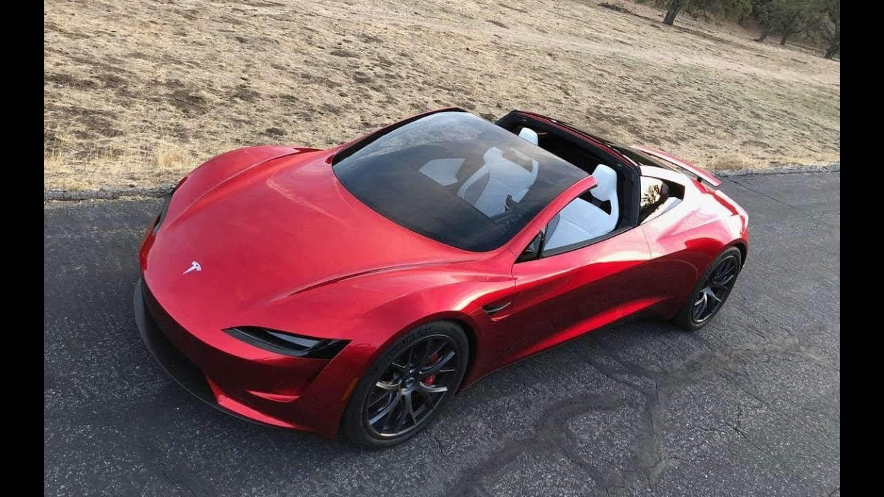 Tesla Roadster 2020 0 60 Mph In 1 9 Second Top Speed 250 Mph