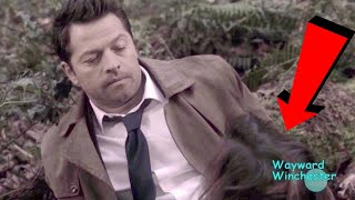 Gabriel's Face Landing In Castiel's Crotch Funny Scene Took '45 Minutes To Film' Misha Collins