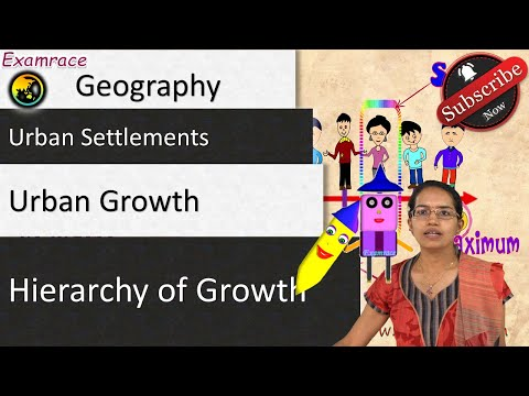 Urban Settlements, Urban Growth and Hierarchy of Growth