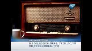 3 de julio Día del Locutor en Argentina