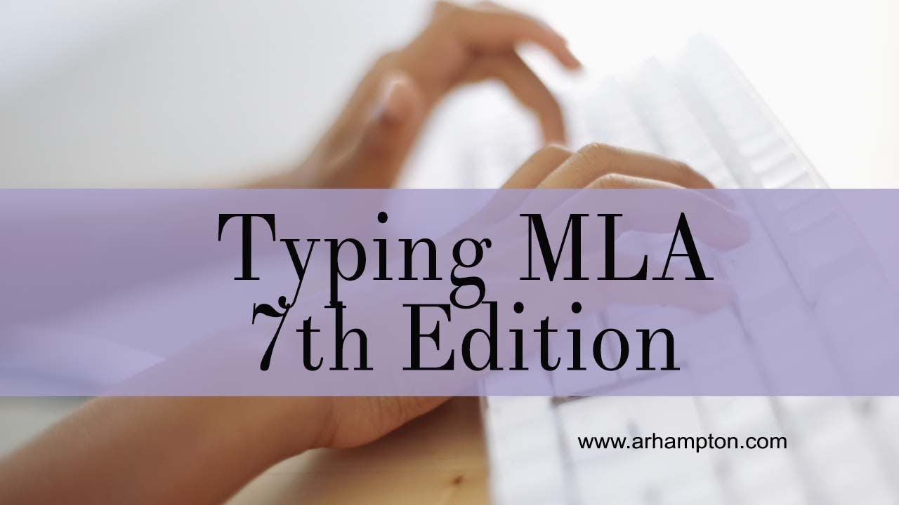 mla th edition sample paper  mla 7th edition sample paper