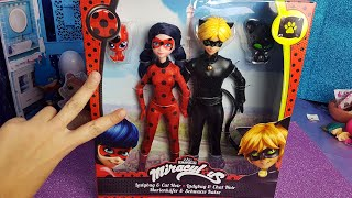Miraculous - Apriamo le bambole di Ladybug e Chat Noir [Unboxing in italiano]