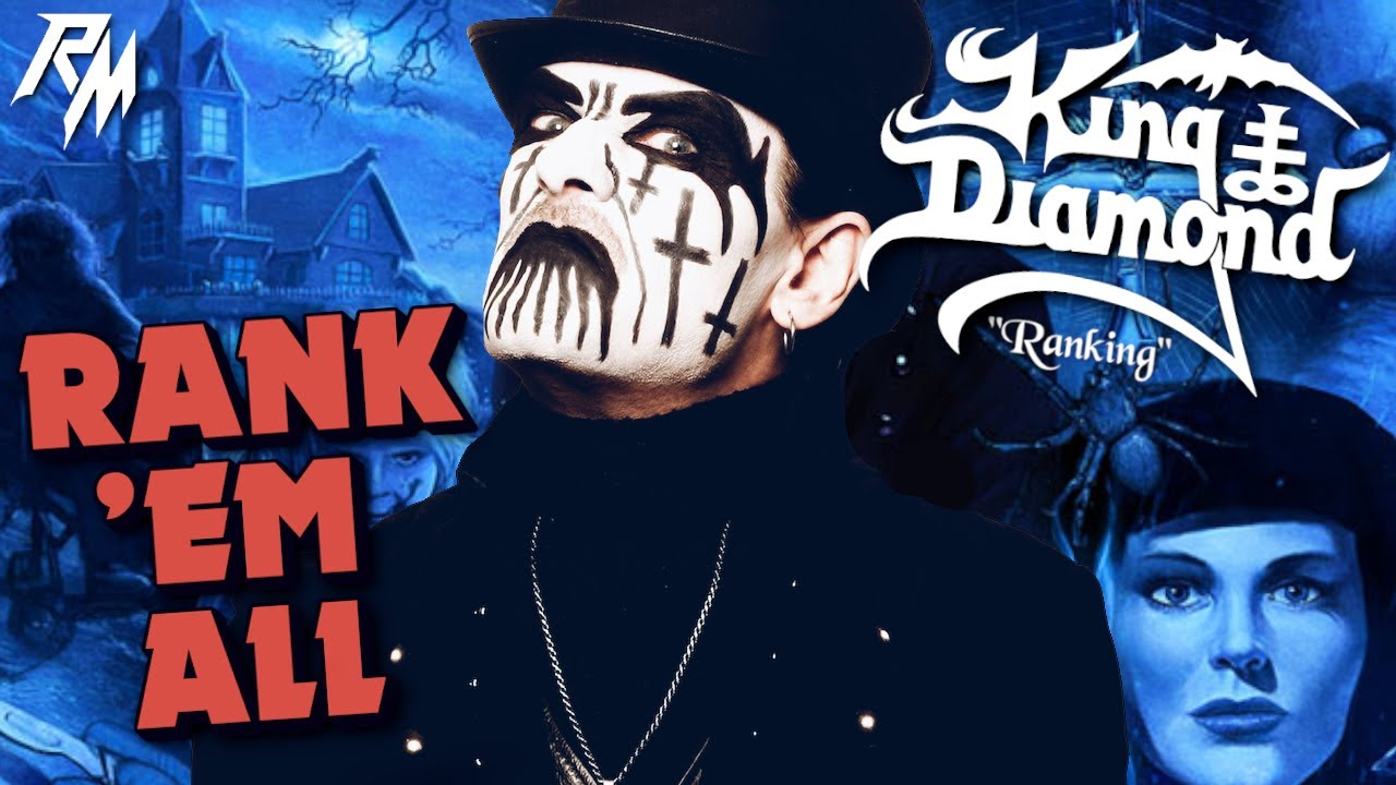 KING DIAMOND: Albums Ranked (From Worst to Best) - Rank 'Em All (Mercyful Fate)
