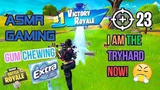 ???? ASMR Gaming | Fortnite I Am The Tryhard Now! 23 High Kill Gum Chewing ????????Controller Sounds????????