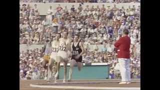 Sir Peter Snell wins 800m Gold, 1960
