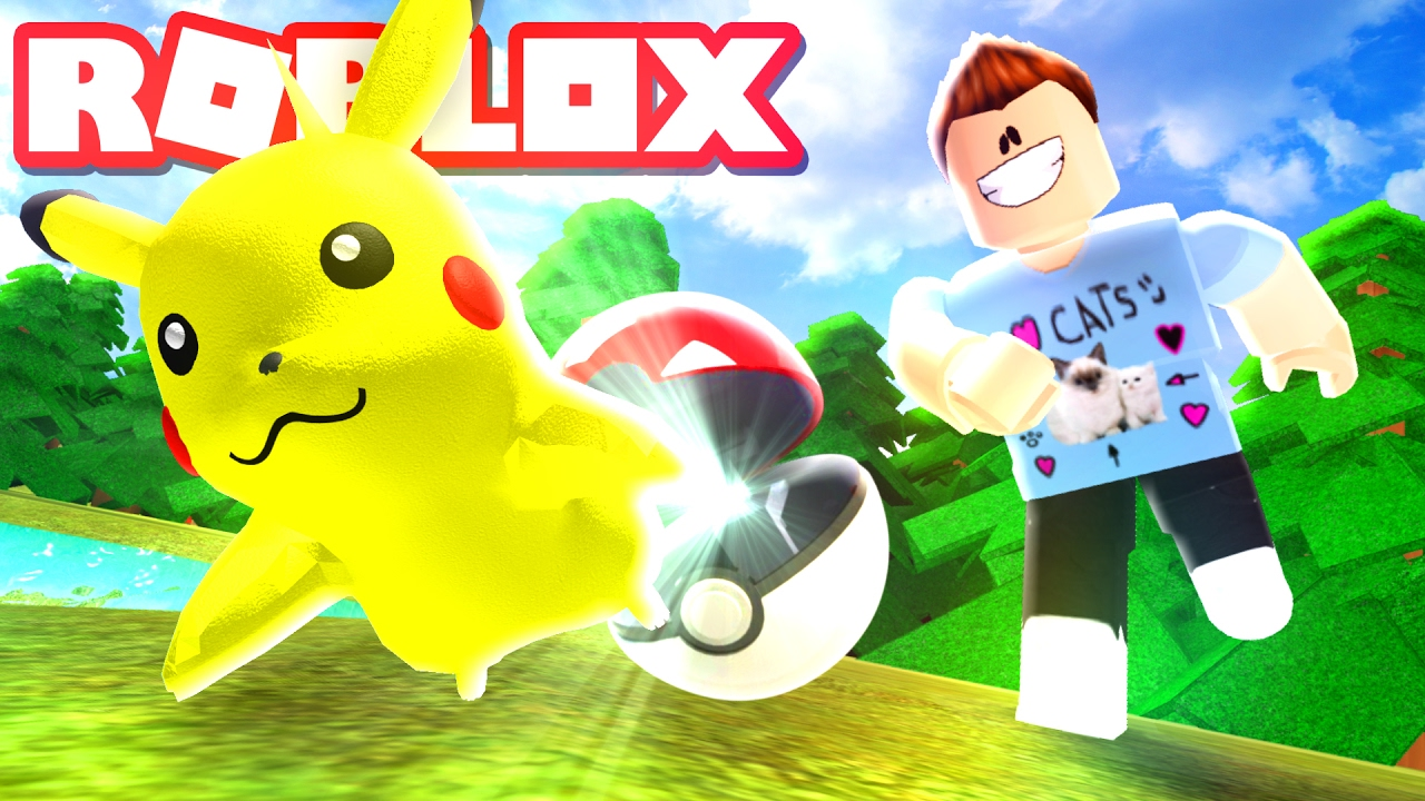 Roblox Adventures Pokemon Brick Bronze My First Pokemon Youtube