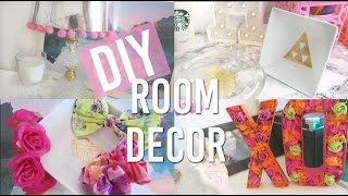 Diy Spring Room Decor | Pinterest And Tumblr Inspired ♡