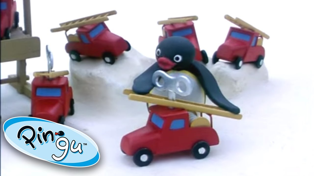 Pingu And The Red Toy Cars! @Pingu - Official Channel 1 Hour | Cartoons for Kids