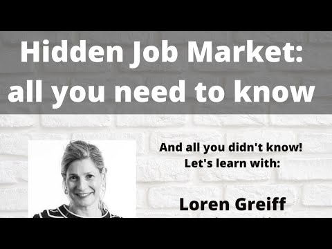 Download Learn about The Hidden Job Market!!