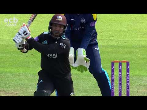 Highlights - Surrey beat Yorkshire in One-Day Cup