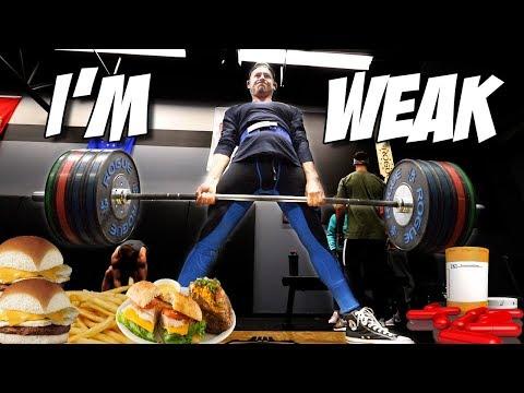 WHAT I'M EATING | I'M GETTING WEAKER!