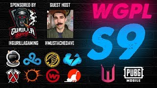 Wicked Gaming Pro League Season 9 Wk2 ft. Cloud 9, PK, SSG, Wildcard, Tempo Storm, Tribe PUBG MOBILE