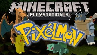 """Minecraft Playstation Mods"" - Pixelmon! (PS3 and PS4 Minecraft Mod Support)?"