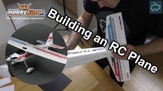 Building an RC Plane with LED's - Night Flying! The HobbyKing Flybeam