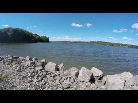 August 6, 2016 Take Out area at Pymatuning Lake with some 20X Time Lapse Water