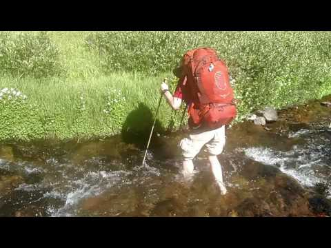 Crossing Upper Tributary of Big Blue Creek NW of Uncompahgre Peak