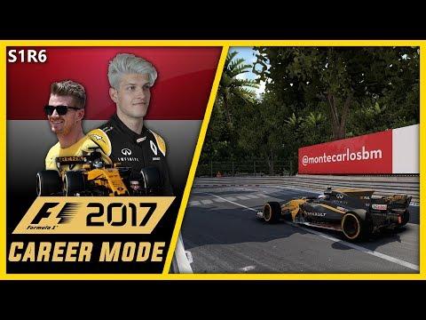 UNBELIEVABLE RACE!! F1 2017 CAREER MODE PART 6 l MONACO!!