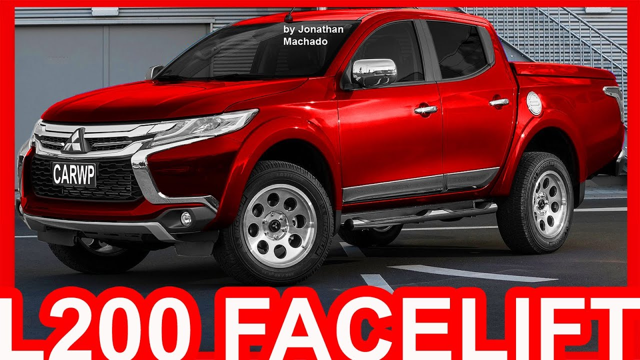 4k Photoshop 2018 Mitsubishi L200 Facelift L200 Youtube