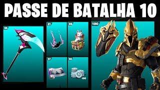 Fortnite-BATTLE PASS 10 FULL