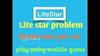 Litestar problem solved now you can play pubg mobile game in ram 1 gb or 2 gb