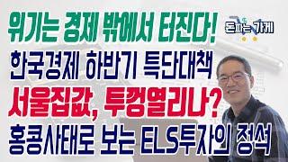 경제위기는 경제밖에서 터진다!_서울집값 뚜껑열리나? 홍콩사태_ELS어떡하나?